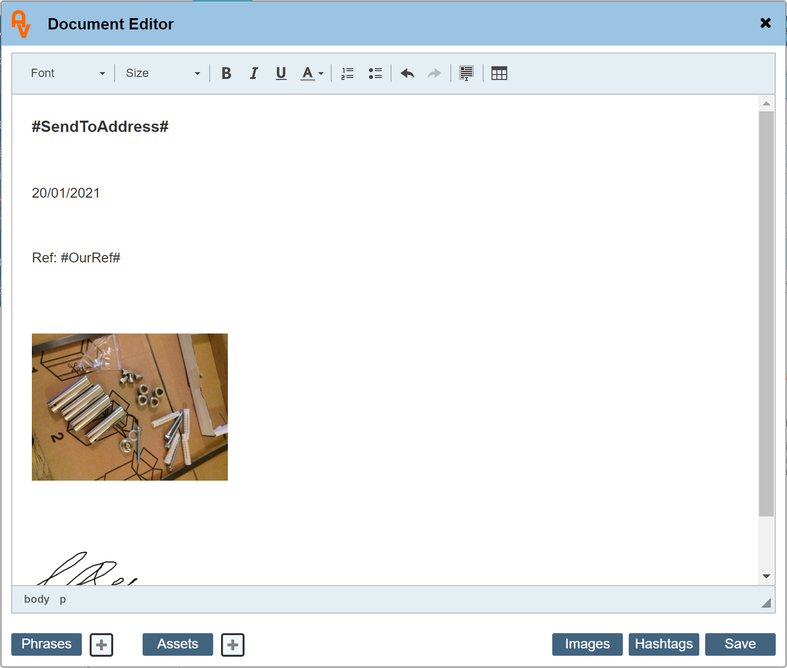Text Editor Image